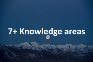 7+ Knowledge areas