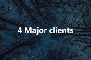 4 Major clients